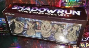 Shadowrun Prime Runner Miniatures